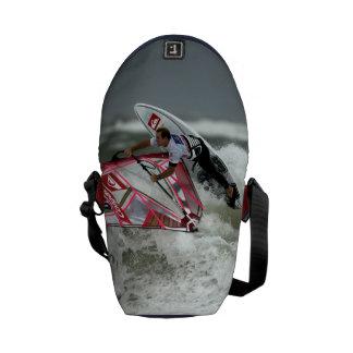 La mini bolsa de mensajero Windsurfing del carrito Bolsas De Mensajería