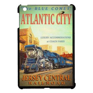 La mini caja del cometa del iPad azul del tren