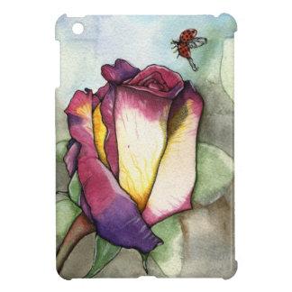 La mini caja del iPad color de rosa