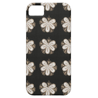 La mirada blanca de la mariposa florece los iPhone 5 funda