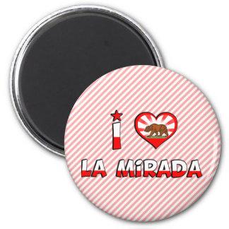 La Mirada, CA 2 Inch Round Magnet