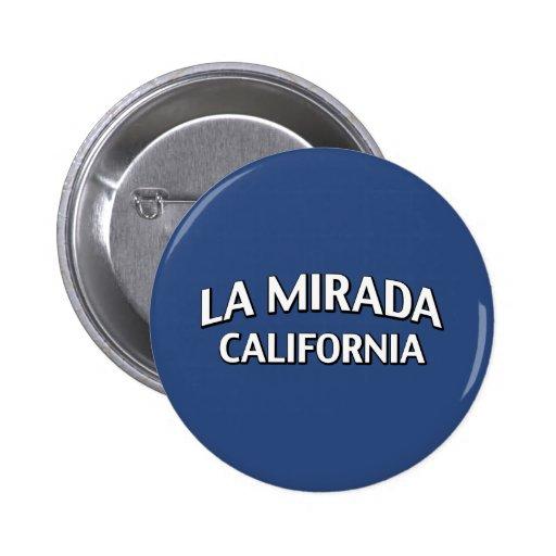 La Mirada California Pin Redondo 5 Cm