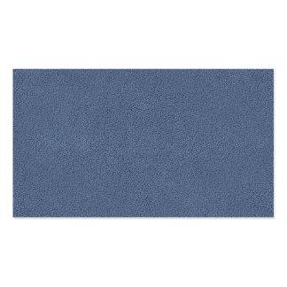 La mirada de comodamente Slate textura azul del Tarjetas De Visita