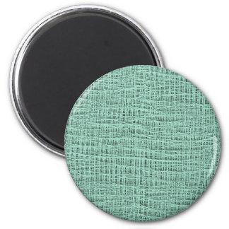 La mirada de la textura azul de la armadura de la imán redondo 5 cm