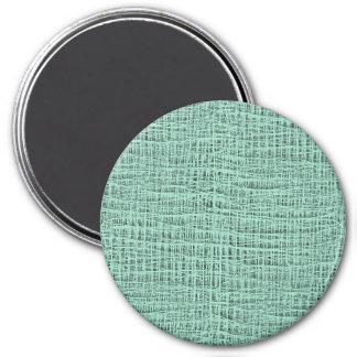 La mirada de la textura azul de la armadura de la imán redondo 7 cm