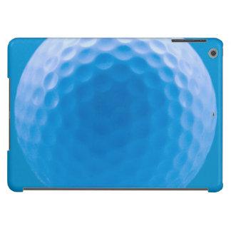 La mirada de la textura de la pelota de golf forma funda para iPad air