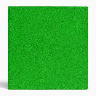 """La mirada del ante verde de neón comodamente carpeta 1 1/2"""""""