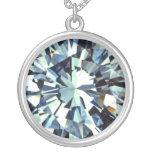 La mirada del diamante colgantes