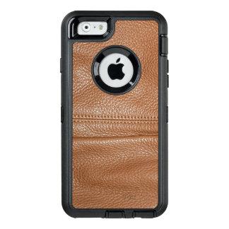 La mirada del grano de cuero flexible suave de funda otterbox para iPhone 6/6s