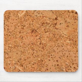 La mirada del grano de madera del Burl del corcho Alfombrilla De Ratones