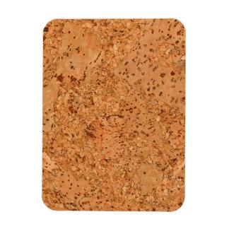 La mirada del grano de madera del Burl del corcho Imán De Vinilo