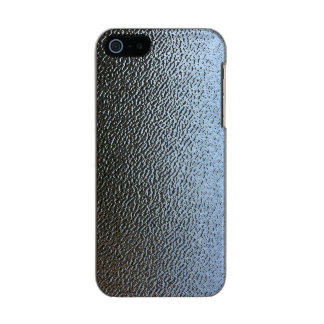 La mirada del vidrio texturizado arquitectónico carcasa de iphone 5 incipio feather shine