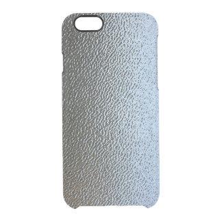 La mirada del vidrio texturizado arquitectónico funda clearly™ deflector para iPhone 6 de uncommon