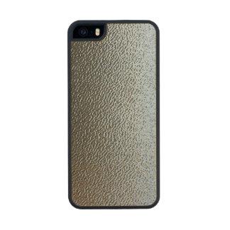 La mirada del vidrio texturizado arquitectónico funda de arce carved® para iPhone 5
