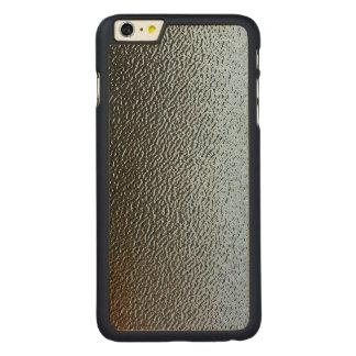 La mirada del vidrio texturizado arquitectónico funda de arce carved® para iPhone 6 plus