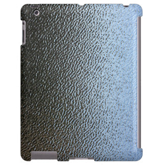 La mirada del vidrio texturizado arquitectónico funda para iPad