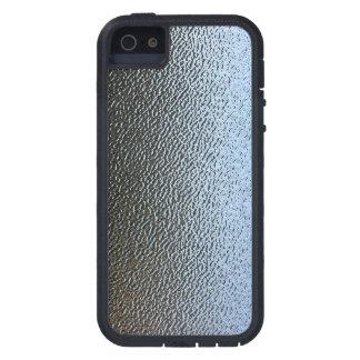 La mirada del vidrio texturizado arquitectónico funda para iPhone 5 tough xtreme