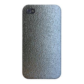 La mirada del vidrio texturizado arquitectónico iPhone 4 carcasas