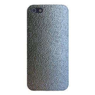 La mirada del vidrio texturizado arquitectónico iPhone 5 funda