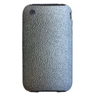 La mirada del vidrio texturizado arquitectónico tough iPhone 3 protectores