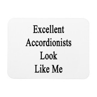 La mirada excelente de los acordeonistas tiene gus iman flexible