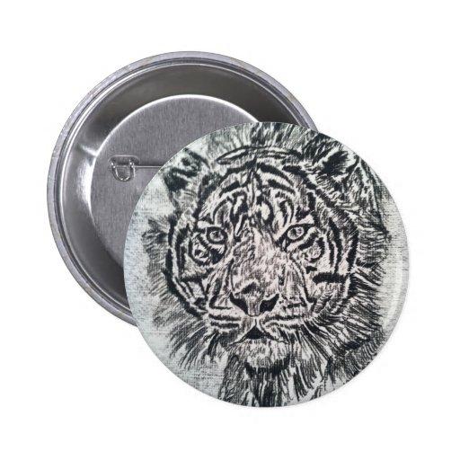 La mirada fija del tigre pins