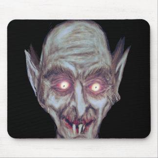 La mirada fija hipnótica Mousepad de Nosferatu Alfombrillas De Ratones