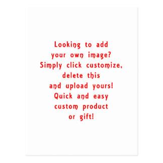 la mirada para añadir los propios diseña para el tarjetas postales