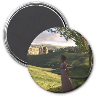 La mirada sobre Pemberley Jane Austen inspiró arte Imán De Frigorífico