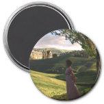 La mirada sobre Pemberley Jane Austen inspiró arte Imán Redondo 7 Cm