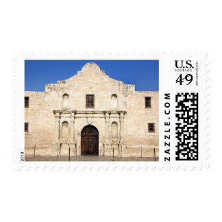 La misión de Álamo en el día moderno San Antonio, Franqueo