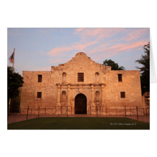 La misión de Álamo en el día moderno San Antonio Tarjetas