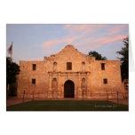 La misión de Álamo en el día moderno San Antonio, Tarjeta De Felicitación