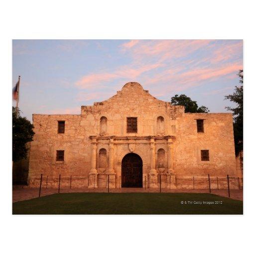 La misión de Álamo en el día moderno San Antonio, Postal