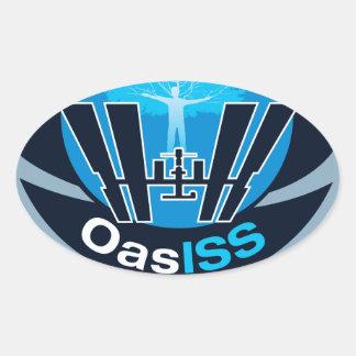 La misión de OASISS Calcomanías De Ovales