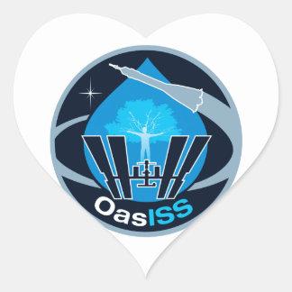 La misión de OASISS Pegatina De Corazón