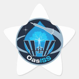 La misión de OASISS Calcomanía Cuadrada