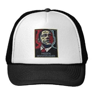 La misión de Obama logró 5 Gorras De Camionero