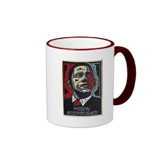 La misión de Obama logró 5 Taza De Dos Colores