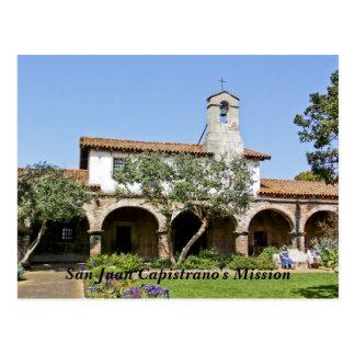 La misión de San Juan Capistrano Postal