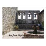 La misión de San Juan Capistrano Tarjetas Postales