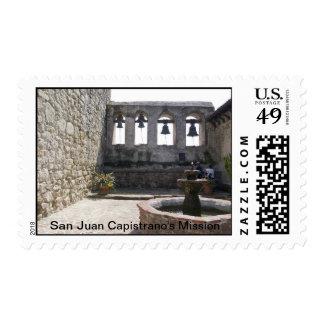 La misión de San Juan Capistrano Timbres Postales