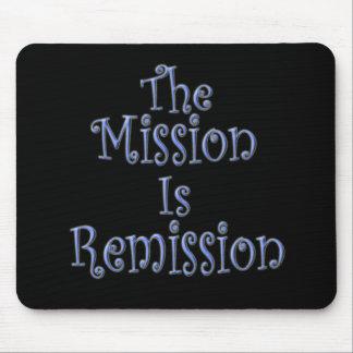 La misión es la remisión 3 alfombrilla de ratón