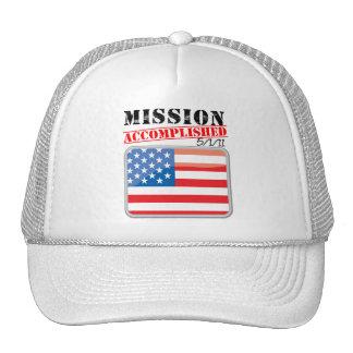 La misión logró 5/1/11 gorro
