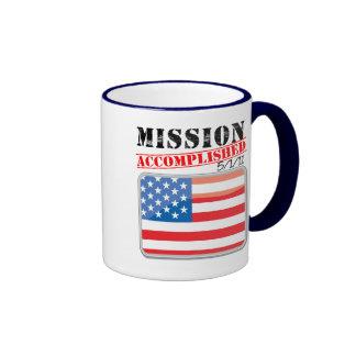 La misión logró 5/1/11 tazas de café