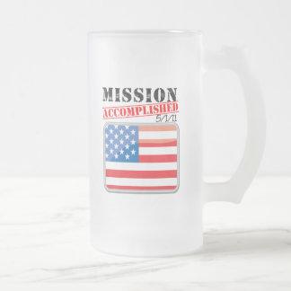 La misión logró 5/1/11 tazas