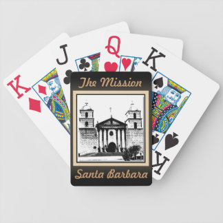 La misión - naipes de Santa Barbara Baraja Cartas De Poker