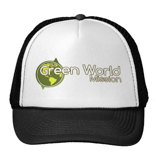 La misión verde del mundo gorras de camionero