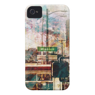 La Mission aka the District Vibe of SanFrancisco iPhone 4 Case