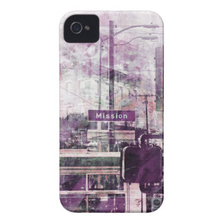 La Mission aka the District Vibe of SanFrancisco iPhone 4 Cover